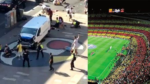 El atentado de las Ramblas de Barcelona era en origen un plan para cometer una matanza en el Camp Nou