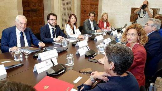 La Comisión Bilateral Gobierno-Generalitat, llena de