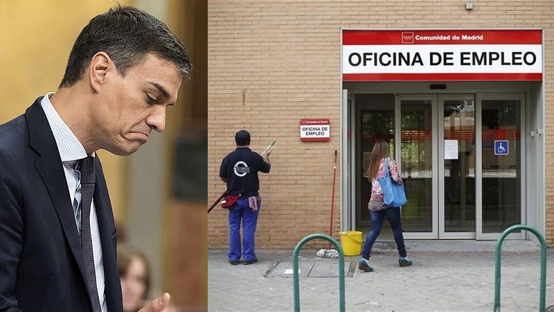 El paro bajó en 27.000 personas en julio, primer mes de Sánchez como presidente