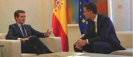 Los nuevos Pedro y Pablo: lo que propondrá Sánchez a Casado para pacificar la legislatura