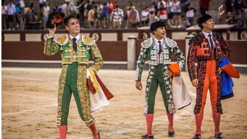 Pablo Mora da la vuelta al ruedo a la muertes de su segundo novillo