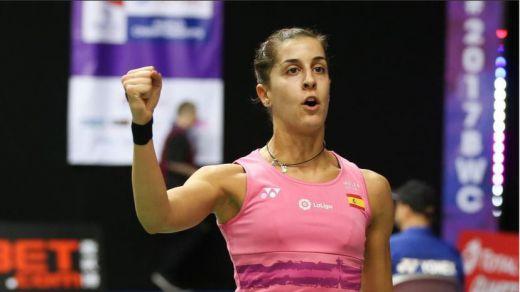 Carolina Marín luchará por su tercer oro en un campeonato mundial