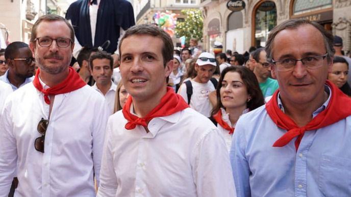 Casado exige al Gobierno impedir enaltecimientos a terroristas tras la liberación de Santi Potros