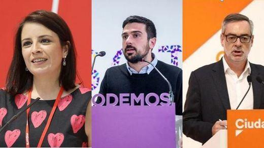 PSOE, Podemos y C's atizan al PP de Casado por el escándalo del 'caso máster'