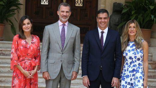 Sánchez reivindica la presencia de los Reyes en Cataluña tras su primer despacho en Marivent