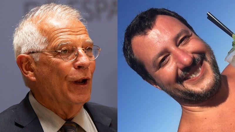 Borrell y Salvini abren una peligrosa guerra entre los Gobiernos español e italiano