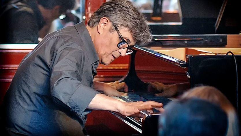 Chano Domínguez, al piano.