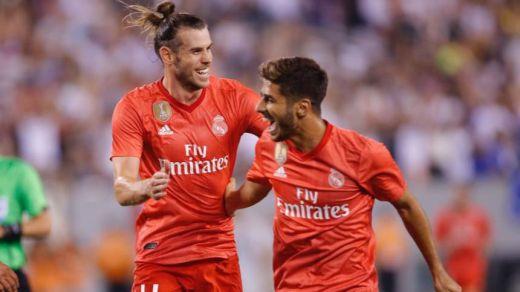 Bale y Asensio siguen haciendo olvidar a CR7 mientras el Madrid brilla y gana (2-1 a la Roma)