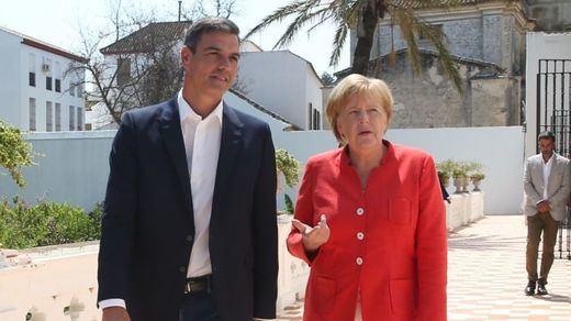 Sánchez y Merkel pedirán en Bruselas más fondos para Marruecos para el control de las fronteras