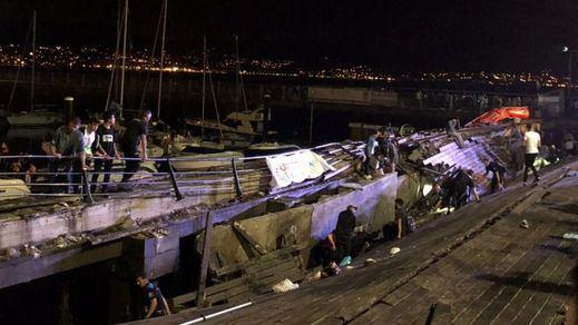 Más de 300 heridos, 9 de ellos graves, tras desplomarse el paseo marítimo de Vigo en pleno concierto