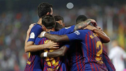 El Barça se lleva la primera Supercopa de España con VAR y jugada fuera del país (2-1, goles en vídeo)