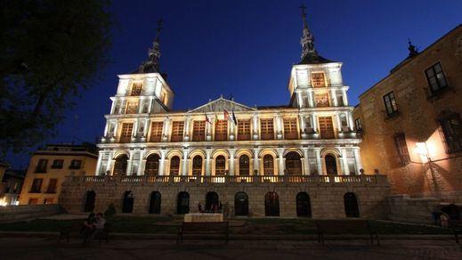 Cortes de tráfico en la Plaza del Ayuntamiento de Toledo por actividades de la Feria