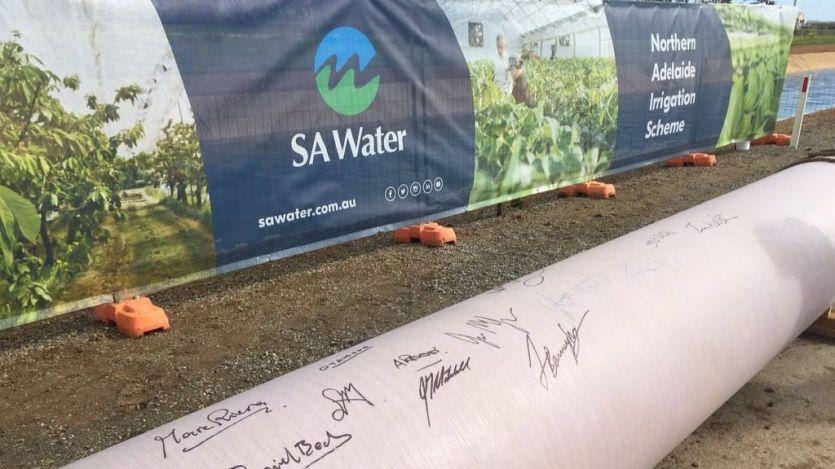 Sacyr construye la primera fase del plan de riego de Adelaida del Norte (Australia)