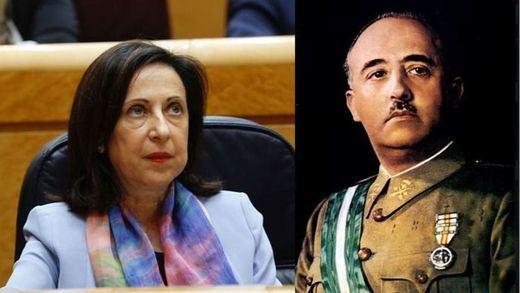 Defensa investiga a 5 militares que firmaron el manifiesto que elogia a Franco
