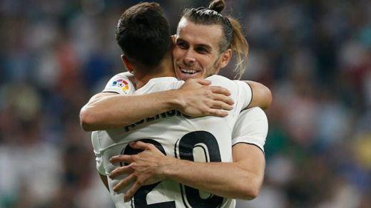 El Madrid consigue su primera victoria oficial sin Cristiano Ronaldo (2-0 goles en vídeo)