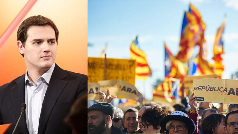 Rivera pide reactivar ya el artículo 155 en Cataluña para controlar a Torra