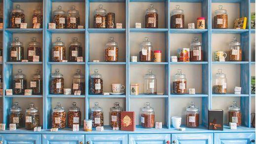 Diferencias entre propiedades de cada tipo de té: blanco, negro, oolong, rojo y verde