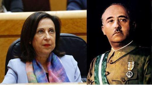 Defensa llama a declarar a los 5 militares que firmaron el manifiesto que elogia a Franco