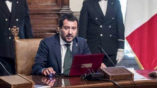 Salvini, sobre las expulsiones en Ceuta: