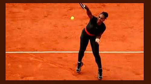 Serena Williams en Roland Garros 2018