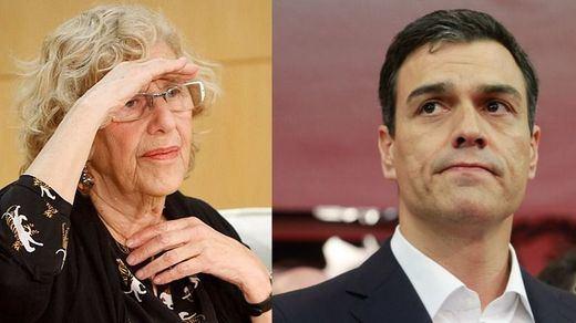 Aseguran que Sánchez vuelve a pedir a Carmena repetir como alcaldesa de Madrid