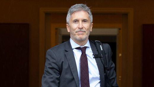 Marlaska exige a Cataluña doblegarse en materia de seguridad por ser
