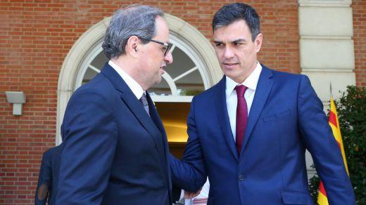 Sánchez dice descartar el artículo 155 porque el Govern de Torra no cometerá