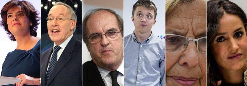 La batalla de Madrid: el PP piensa en Santamaría y Pizarro; el PSOE busca candidatos y Podemos espera a Carmena