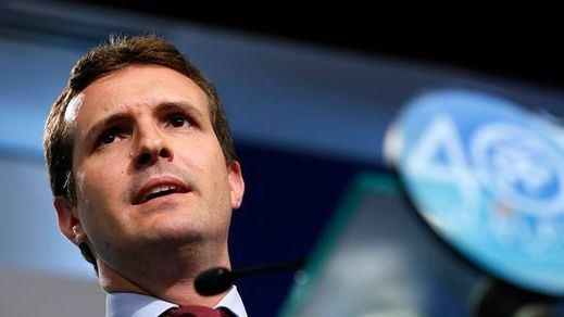 Casado recuerda al Gobierno que no contará con el PP para una subida de impuestos