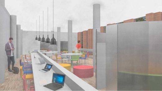 La Biblioteca Municipal Almudena Grandes dispondrá en 2019 de una nueva sala de estudio