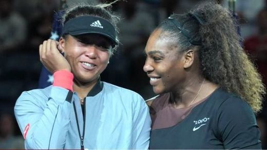 El monumental enfado de Serena Williams en la final del US Open