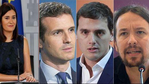 El PP calla mientras Podemos y C's exigen la comparecencia de Montón por el 'caso máster'