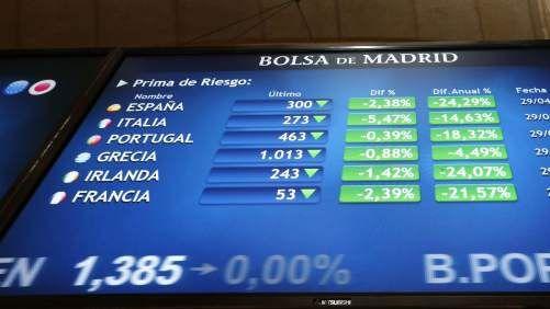 El Ibex rebota un 1,09% desde mínimos anuales