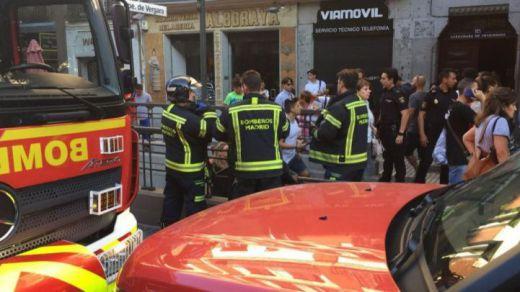 Pánico en la L9 del Metro de Madrid tras estallar un dispositivo electrónico