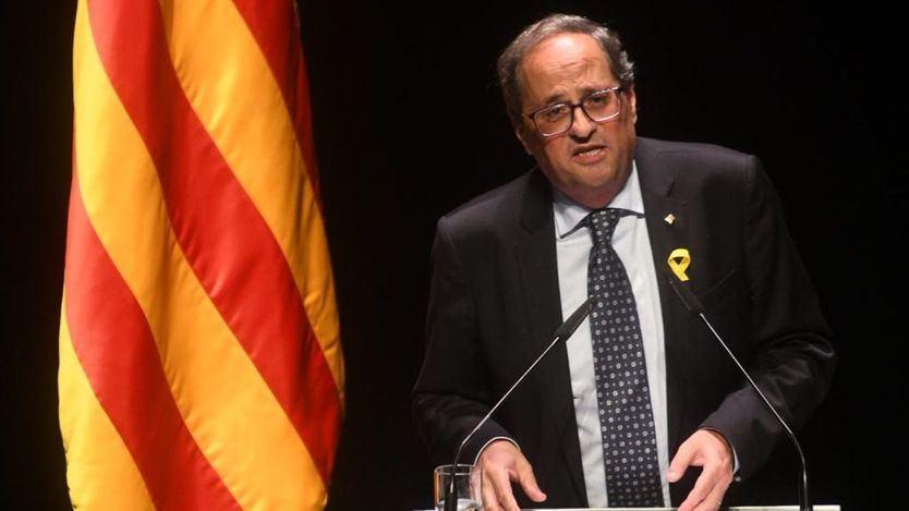 Torra da por rota la confianza en la Justicia española por el polémico foro de jueces y pide la dimisión de Lesmes