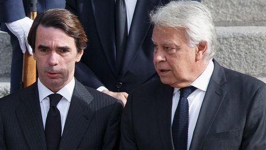 González y Aznar toman posiciones sobre una eventual reforma de la Constitución