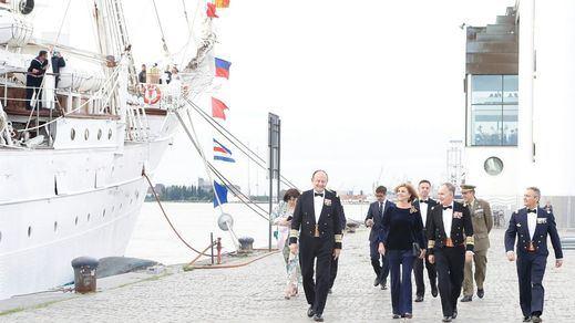 Compromís critica al Gobierno por no investigar el 'paseo' en el buque Elcano del marido de Cospedal