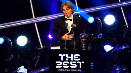 Modric pone fin al duopolio de Ronaldo y Messi y se alza con el premio 'The Best'