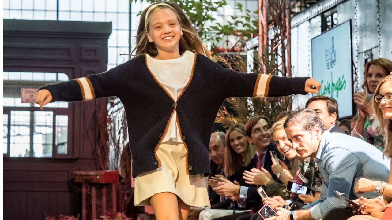 f51d4f56b El Corte Inglés desfila en la pasarela de moda infantil 'The Petite ...