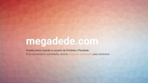 Y 'Plusdede resucitó'... con un nuevo dominio Megadede