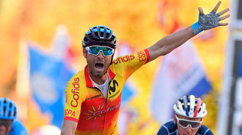 Alejandro Valverde se proclama al fin campeón del Mundial de ruta