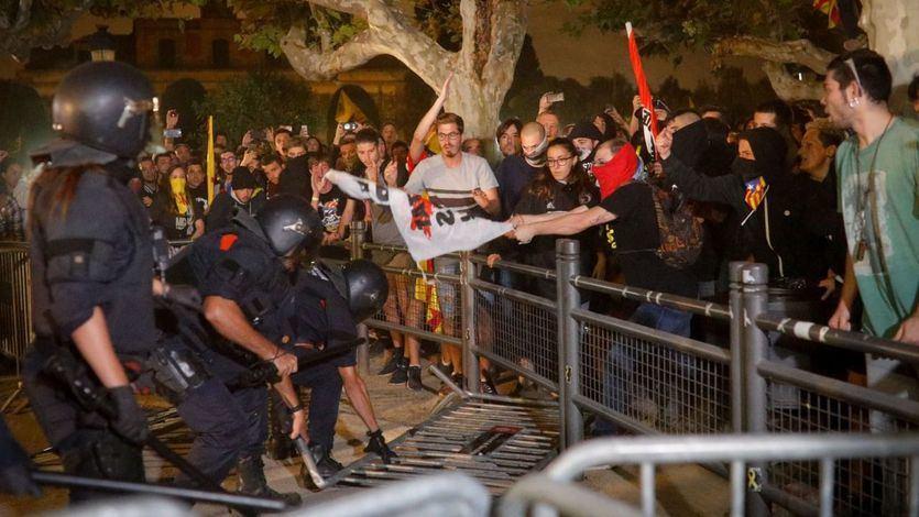 Sánchez reacciona tras la jornada de graves altercados en Cataluña: 'La violencia no es el camino'