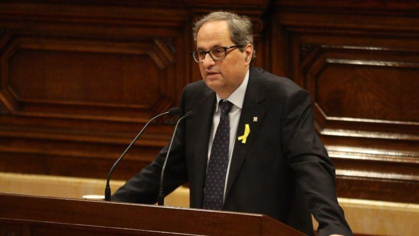 El ultimátum de Torra a Sánchez: si no hay referéndum, retirará su apoyo al Gobierno