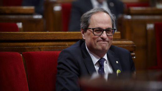 Torra incendia la política española para poder apaciguar las iras soberanistas en Cataluña