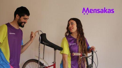 La app Mensakas con la que los repartidores de comida tendrán trabajos dignos