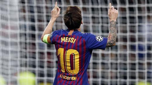 Resumen y goles del Tottenham 2-4 Barcelona en vídeo: nueva clase magistral de Messi