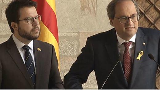 Torra admite que ha puesto fecha de caducidad al acuerdo para mantener a Sánchez en La Moncloa