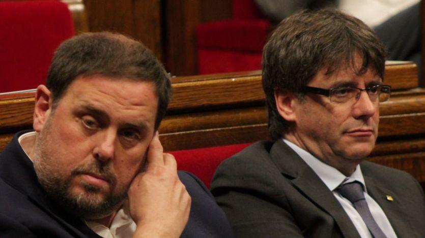 El Constitucional admite los recursos de amparo de Puigdemont, Junqueras, Romeva, Cuixart...