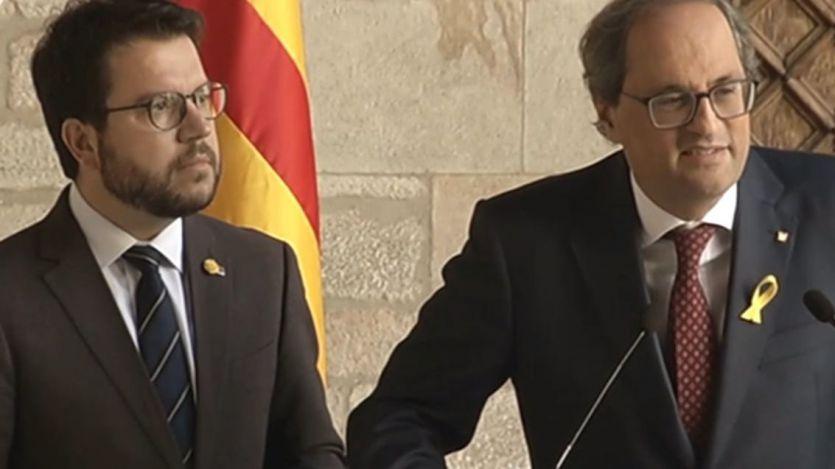 La Asamblea Nacional Catalana presiona a Torra con su propio ultimátum