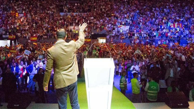 Vox pone nerviosos a los partidos tradicionales por su muestra de fuerza en Vistalegre